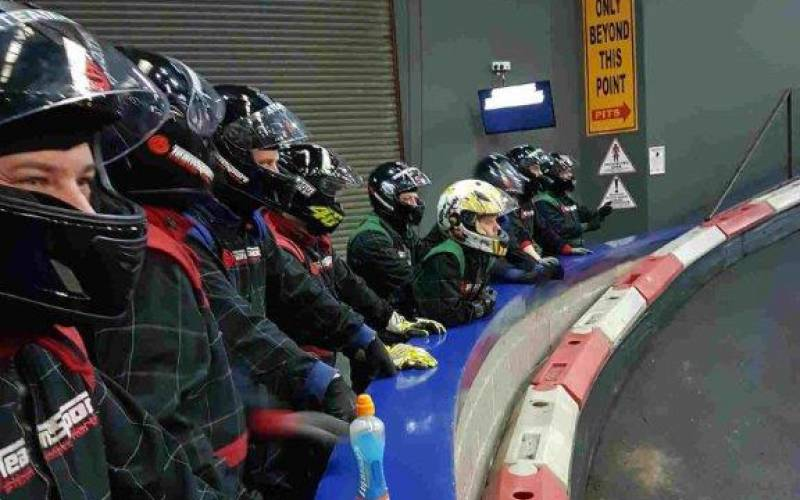 Go Karting brings out the best in men – BCS Team Day